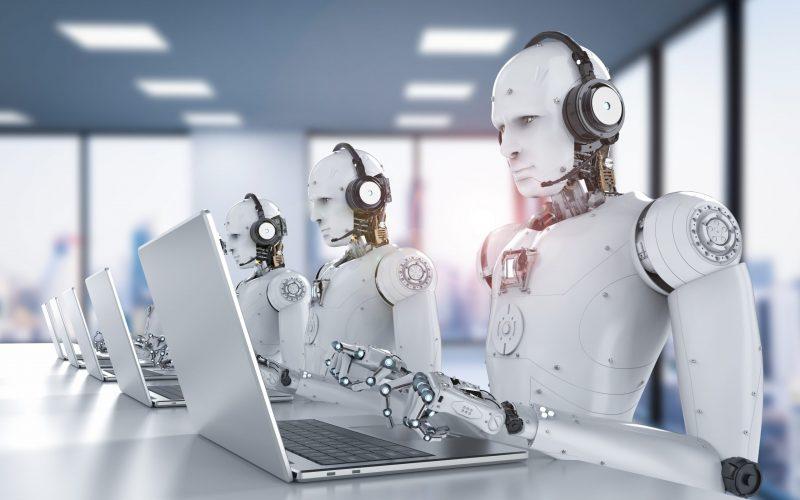 robô de ligações